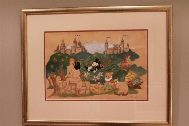 Frank Folmer - Naughty Disney Characters in the garden