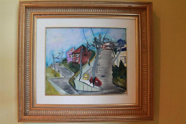 Victor Rubin - Clovelly Street Corner | Buy Private Art | Private Art Sales