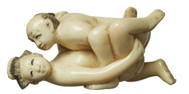 Unsigned - Netsuke - Erotic Pose