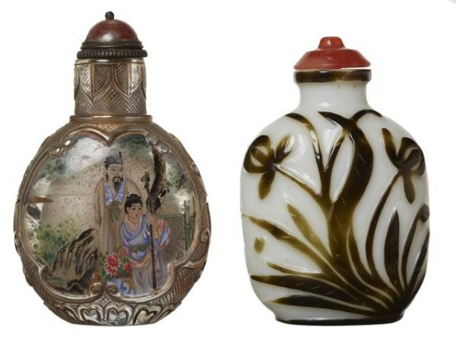 Unknown - Two Chinese Snuff Bottles