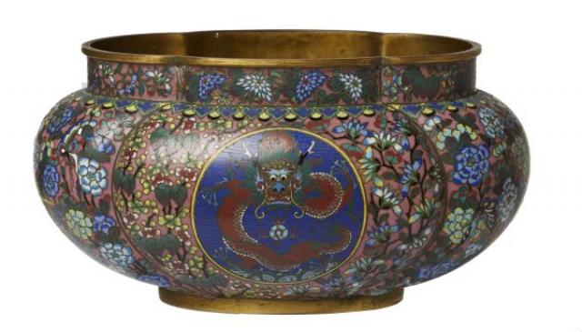 Unknown - A Chinese Cloisonne Pot