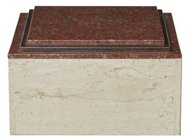 Unknown - A Contemporary Marble Square Stand
