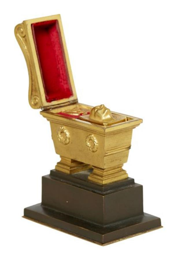 C de Franoz - French Gilt-Bronze Seal Stand Model of Napoleon Tomb | Buy Private Art | Private Art Sales