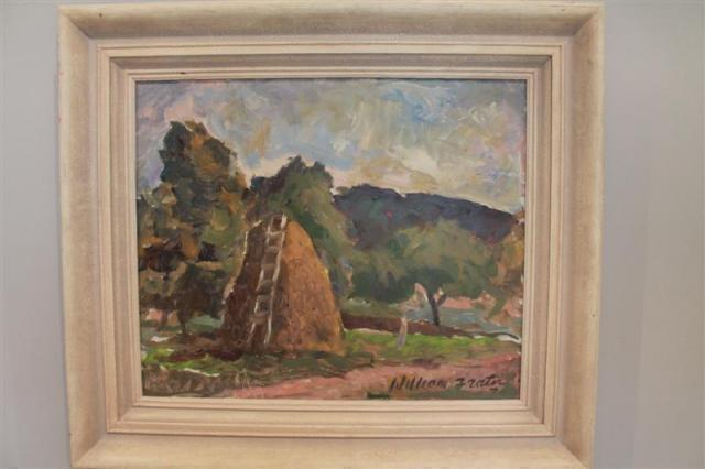 William Jock Frater - The Haystack | Buy Private Art | Private Art Sales